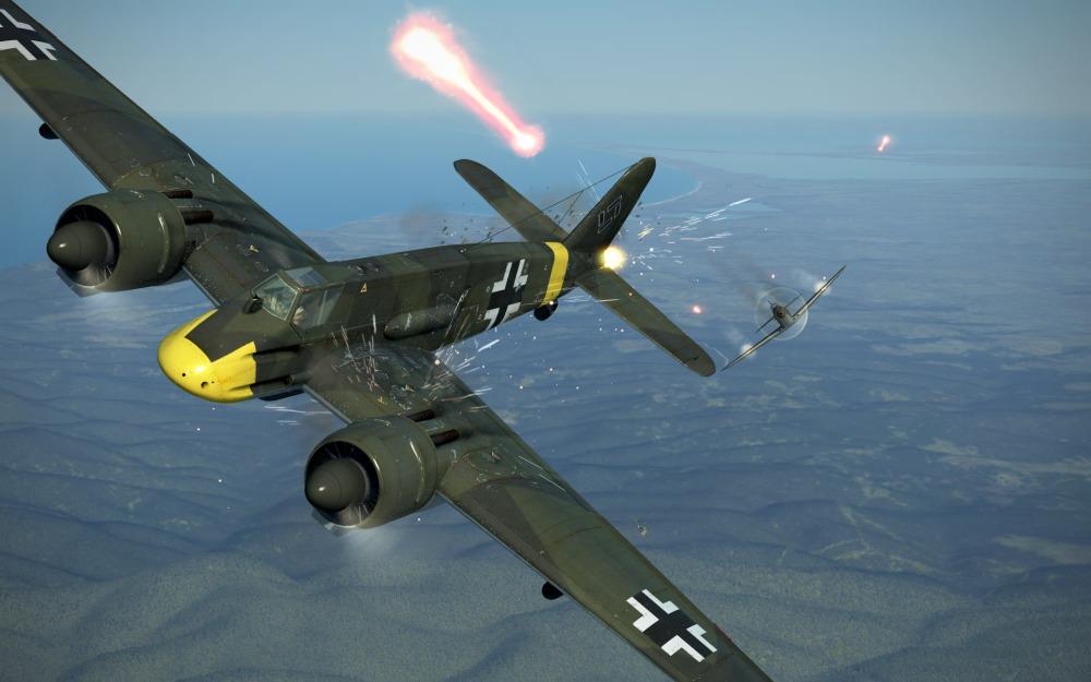 Hs129B-2-bullet-hit-effects