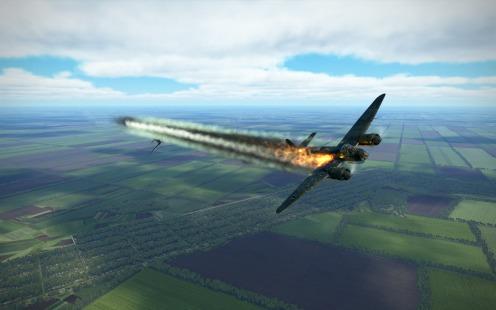 Ju88-on-fire-kuban