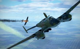 Pe-2-FW190-defeated
