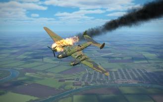 Pe-2-on-fire