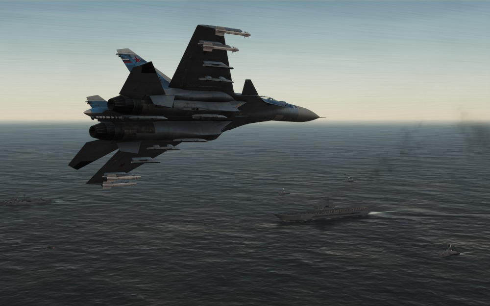 Su-33-carrier-approach