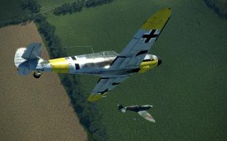 Bf109G-4-dewing