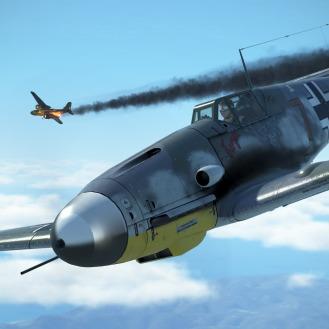 Bf109G-4-smokey