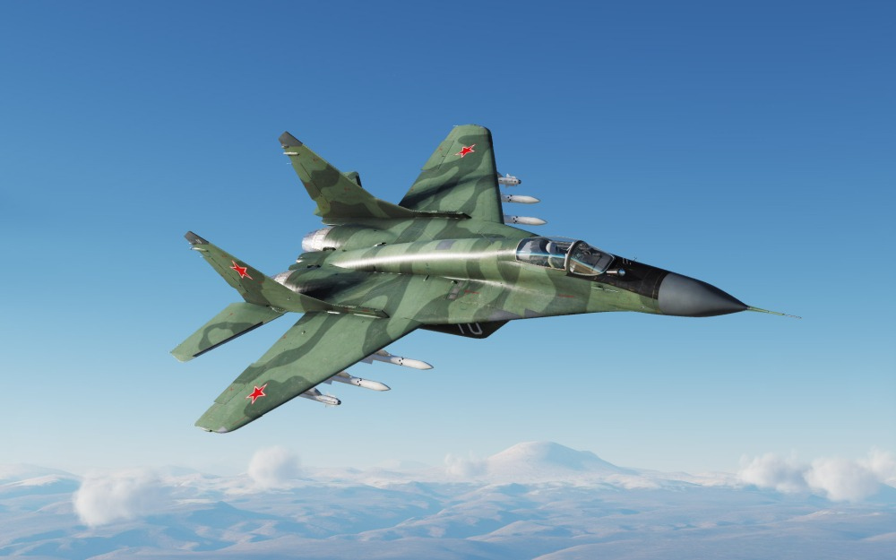 MiG-29S-green-and-green