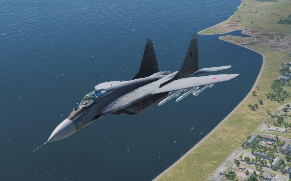 MiG-29S-over-water