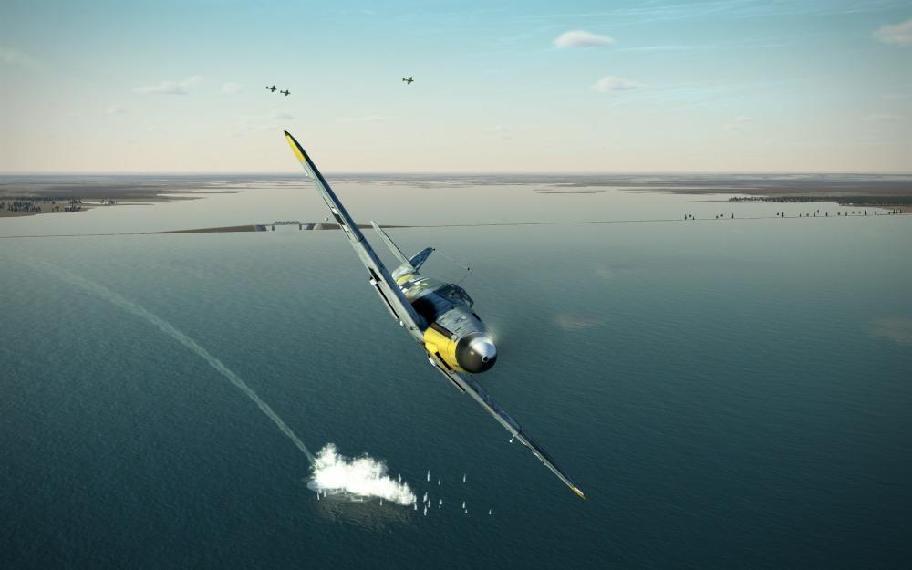 Bf109F-2-target-splashed