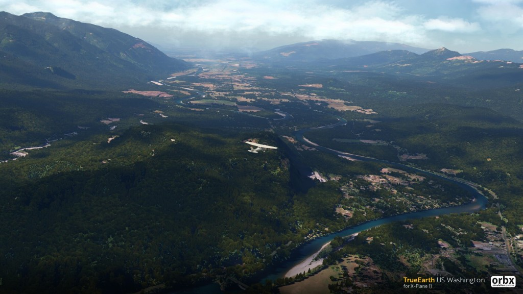 Orbx shows off gorgeous X-Plane 11 Washington scenery – Stormbirds